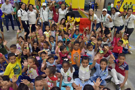 Los menores se divirtieron con más de 2 millones de piezas en una jornada inolvidable