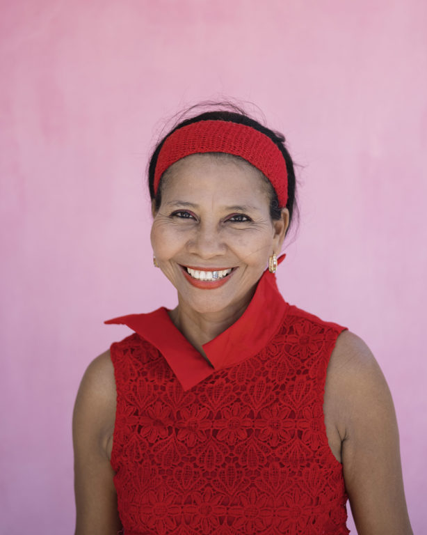 María Barrera, beneficiaria de Barrios a la Obra - Las Américas