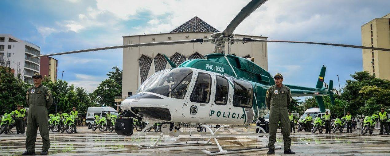 Helicóptero Policía Barranquilla