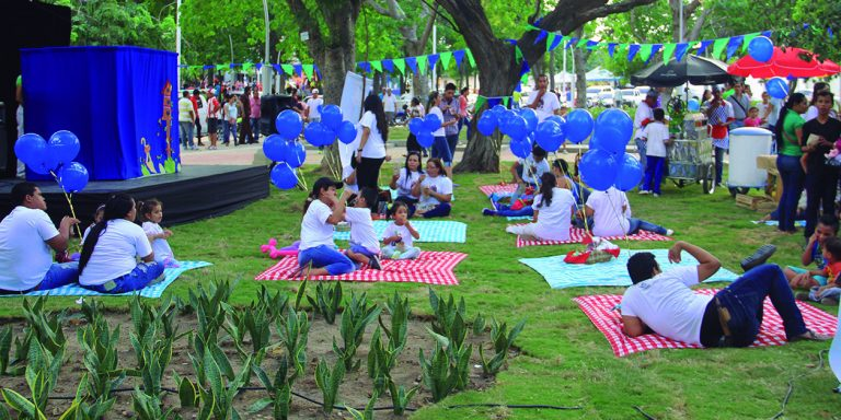 Reserva espacios parque celebraciones Barranquilla