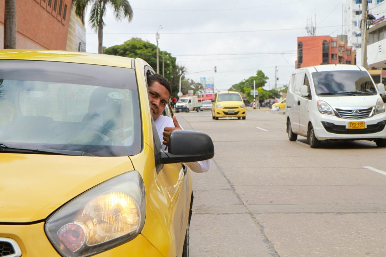 Pico y placa taxis Barranquilla