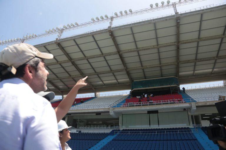 Distrito Dignifica Espacio De Prensa Del Estadio