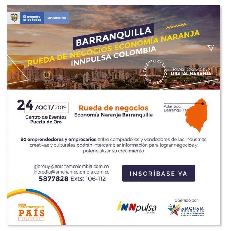 Rueda de negocios - Economía naranja - Barranquilla