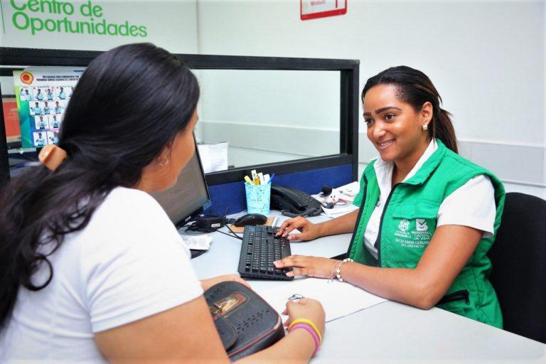 Leyenda Centro de Oportunidades - Secretaría de Desarrollo Económico Barranquilla