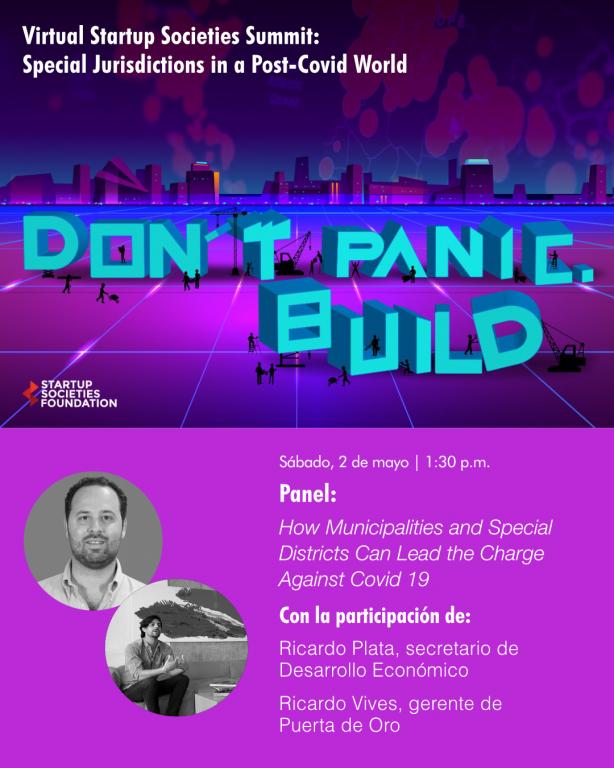 Ricardo Plata y Ricardo Vives - Startup Societies