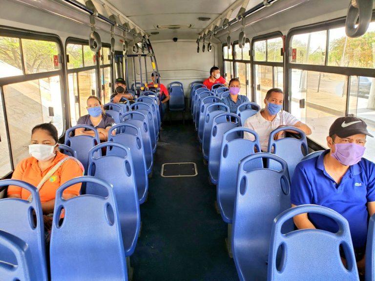 Así operará el transporte público colectivo en Barranquilla durante el  toque de queda